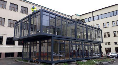 Constructie modulara - cladire administrativa