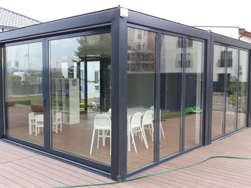 Containere modulare pentru educatie