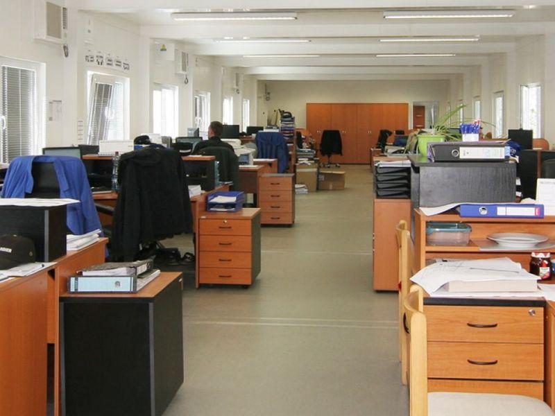 Containere sediu companie - Interior
