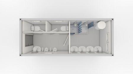 Container sanitar Mix