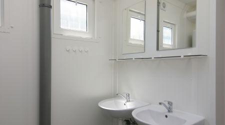 Interior container sanitar